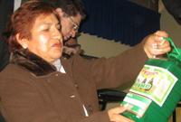 Ingeniera química Otilia Acha de la Cruz, de la Universidad Nacional de Ingeniería (UNI)
