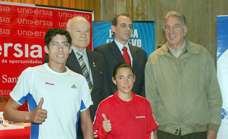 Jorge McFarlane, Iván Rodríguez, Ezra Zaharia, Ricardo Duarte y Marisol Espineira