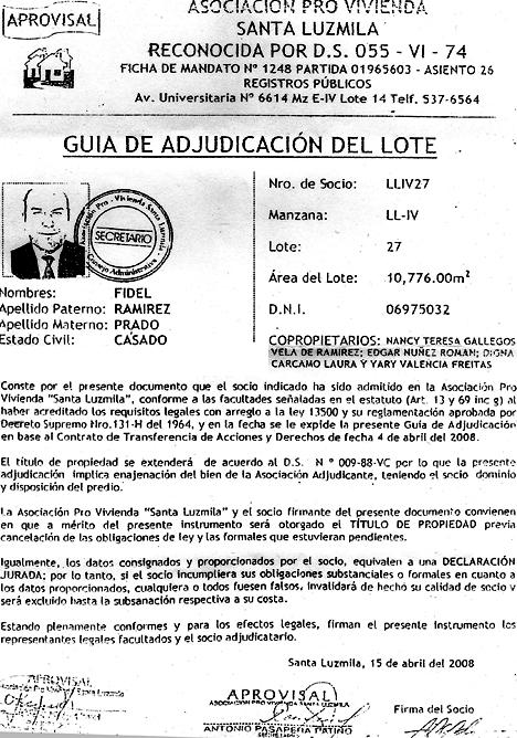 Alas_Peruanas_lote_Comas