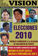 Revista VISION, Los Olivos